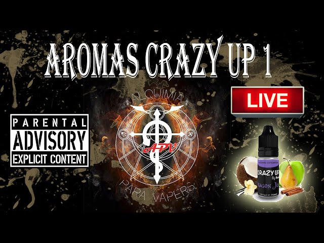APV 104. Revisión aromas Crazy Up by Aromea