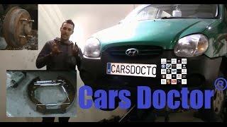 Download lagu Tutorial HD Cambio de Zapatas y bombines Hyundai Atos MP3