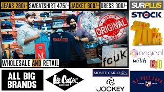 Export surplus wholesale    70% off   opine india    Cheapest branded clothes
