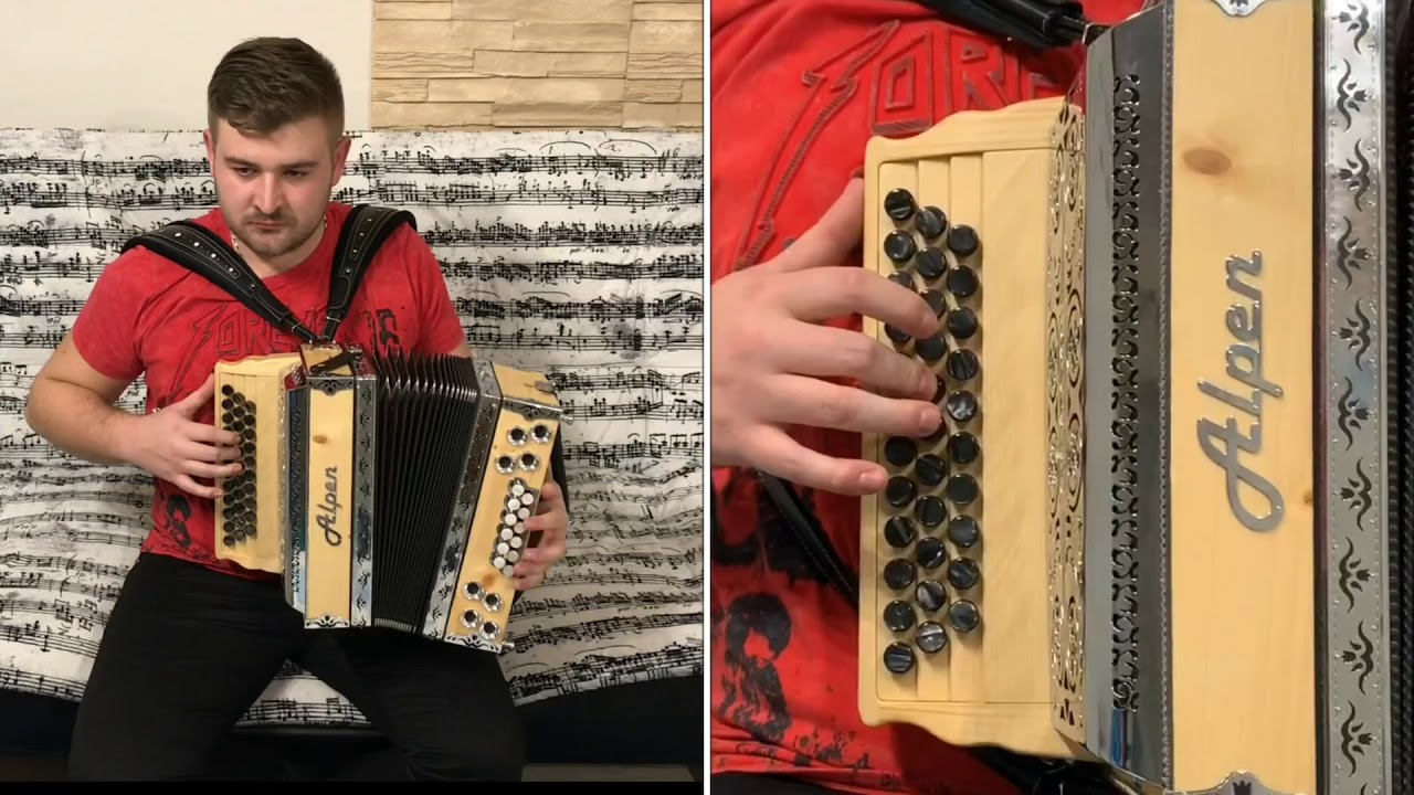 Ako hra na stnu harmoniku, blues Music