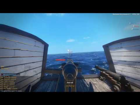 "Blackwake - Pirates - Team Deathmatch - Underway on a Chinese Junk With a Few ""Salty"" Scallywags!"