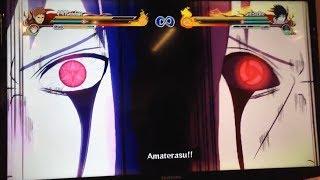 naruto shippuden ultimate ninja storm revolution 4th kazekage vs sasuke gameplay demo