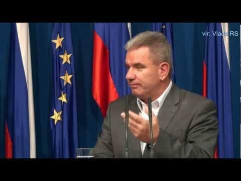 12. redna seja Vlade RS - novinarska konferenca (vir: Vlada RS)