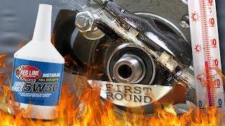 Red Line Euro Series 5W30 Jak skutecznie olej chroni silnik? 100°C