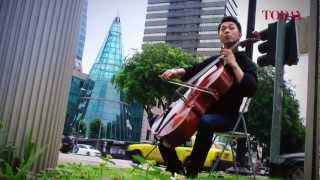 Qin Li Wei, Cello Virtuoso, Plays for The Centre For Fathers.