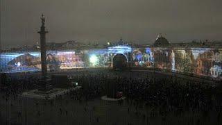 световое шоу в Санкт-Петербурге 6.12.14