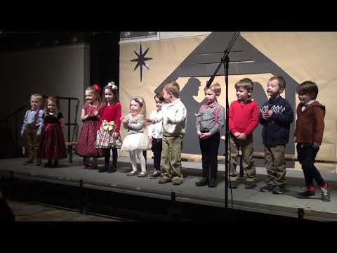 Maximilian Montessori Academy Mrs Triplett Preschool Christmas 2018