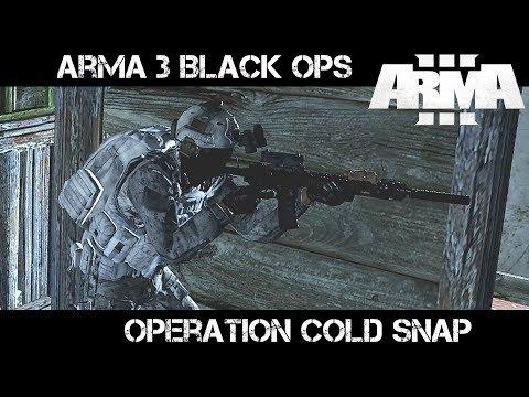 Op Cold Snap - ArmA 3 Black Ops - Liru as Zeus