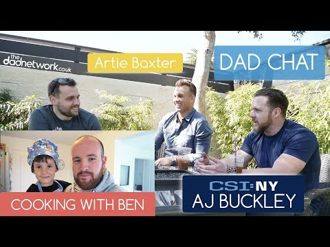 Exclusive Interview with Hollywood 📹 🎥 📽 🎞  Actor AJ Buckley | Dad Chat