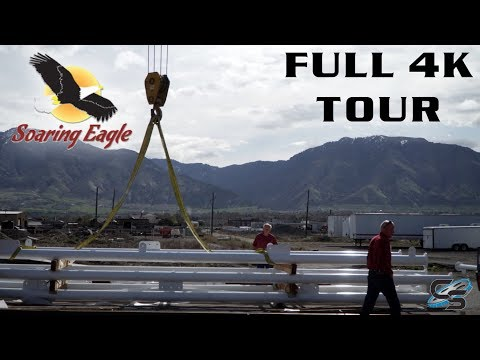 Soaring Eagle Zipline Factory Tour wStan Checketts  Logan, Utah