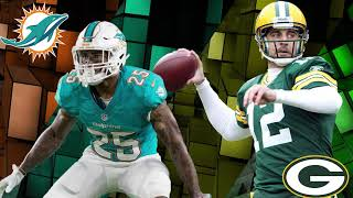 Miami Dolphins vs Green Bay Packers NFL Week 10 Preview