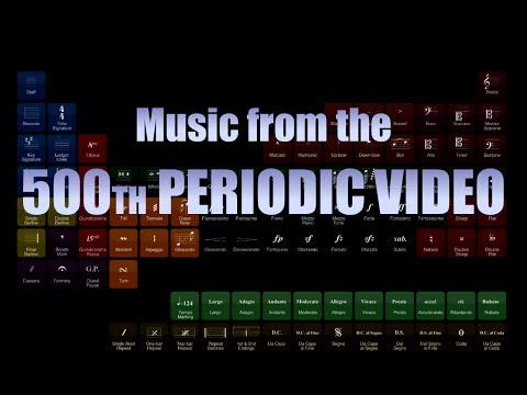 Music from 500th Periodic Video