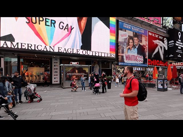 Confronting abortion and other social issues in Times Square, NYC