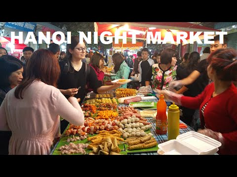 Hanoi Massage Night Market Live Music Old Quarter Vietnam 2016