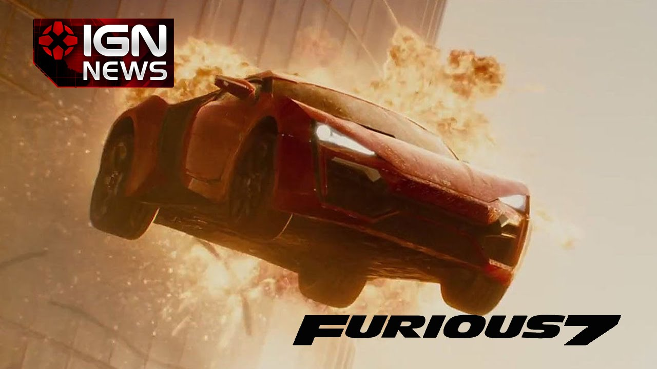 furious 7 skyscraper car jump stunt 'plausible' - ign news - youtube