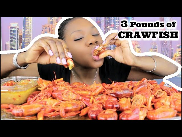 3 POUNDS OF CRAWFISH | SEAFOOD BOIL | SHOUT OUT FRIDAY