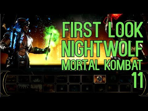 FIRST LOOK At Nightwolf In MK11 - Competitive! #EarlyAccessProvidedByWB