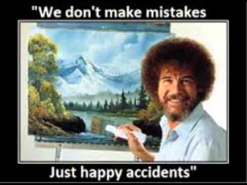 Bob Ross Experience...lets paint a picture shall we