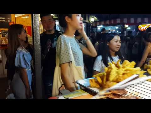 TAYLAND BANGKOK GECE PAZARI STREET FOOD להורדה