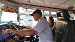 태국 방콕 배타고 쇼핑가기 정겨운시골분위기 코파는 아저씨 킬포 힐링   Thailand bangkok