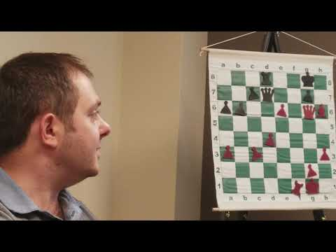GM Vladimir Georgiev lecture on Chess Endgames at Twin Ports Open 6 (Superior, WI) part 1