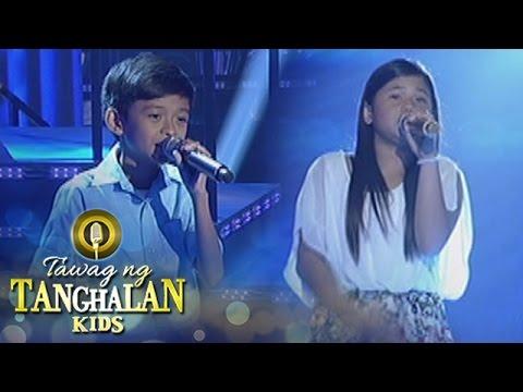 Tawag ng Tanghalan Kids: Keifer Sanchez vs. Reign Curthney Basa