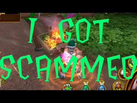 ARCANE LEGENDS- I GOT SCAMMED