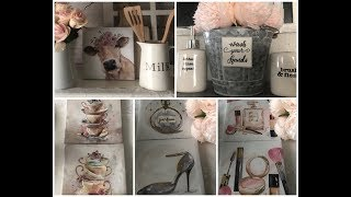 ADORABLE NEW DOLLAR TREE FINDS GIRLY👸🏻 FARMHOUSE🐄 CANVAS AND BACK TO SCHOOL SUPPLIES JULY 2019