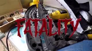 Кроссовки из Китая, краш-тест кроссовок Nike Air Yezzy 2