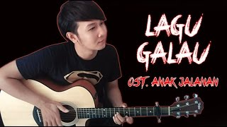 Video (Al Ghazali) Lagu Galau - Nathan Fingerstyle | Guitar Cover & Lirik | OST. Anak Jalanan download MP3, 3GP, MP4, WEBM, AVI, FLV November 2017