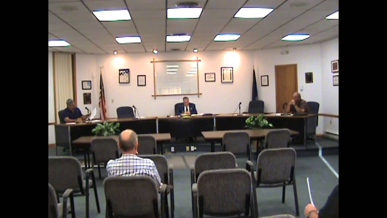 Rouses Point Village Board Meeting  8-3-15