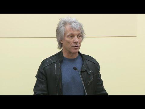 Jon Bon Jovi Opens New Restaurant At Rutgers-Newark