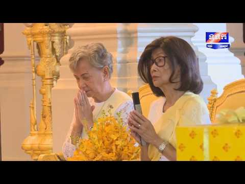 Ceremony of the exit of the Lunar Year - Royal Palace Phnom Penh