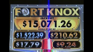 Cleopatra Fort Knox slot machine - Live Play