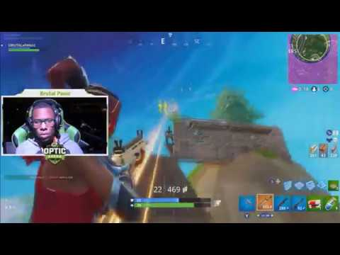 FULL GAMEPLAY OF DESMOND SNAPPING ON FORTNITE IN OFFICIAL GAMING TOURNAMENT