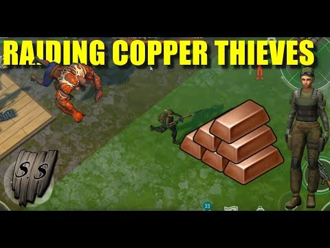 Raiding the copper thieves (Last day on Earth: Survival)