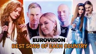 Best Eurovision Song of Each Country (2010 - 2020)