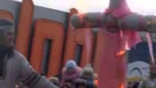 """Славянское огненное, фаер шоу и звонарь от шоу-театра """"Экстример"""", Масленица."""