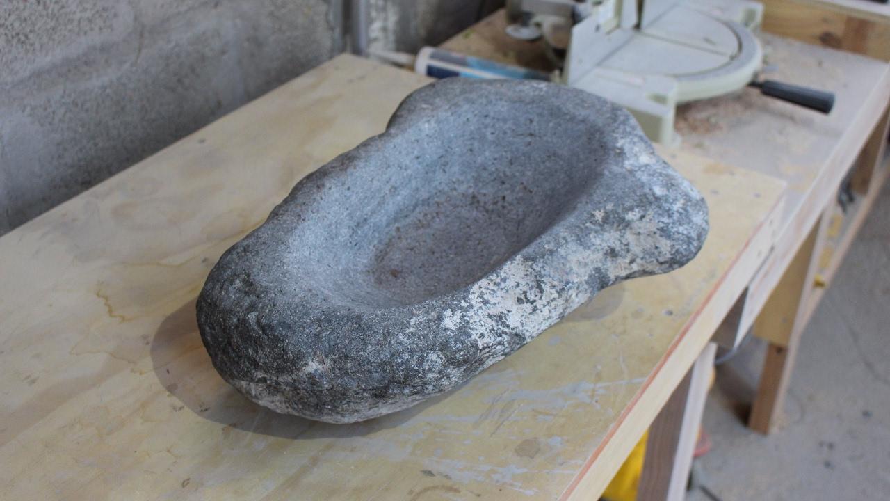 lavamanos de piedra parte 1 youtube