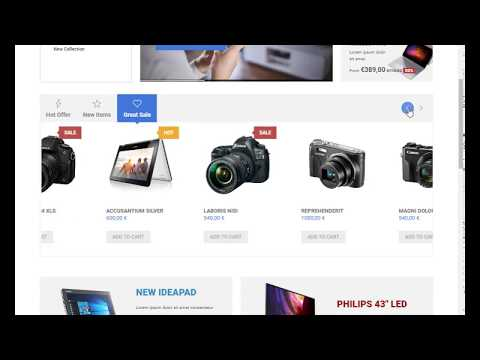 Q Store Joomla Shopping Cart Template