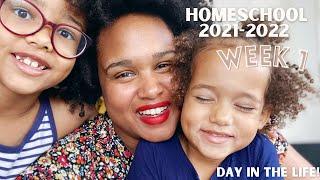 Homeschool 2021 - 2022 Week 1| DITL