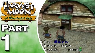 Harvest Moon: A Wonderful Life Part 1: Welcome to the Farm Life!