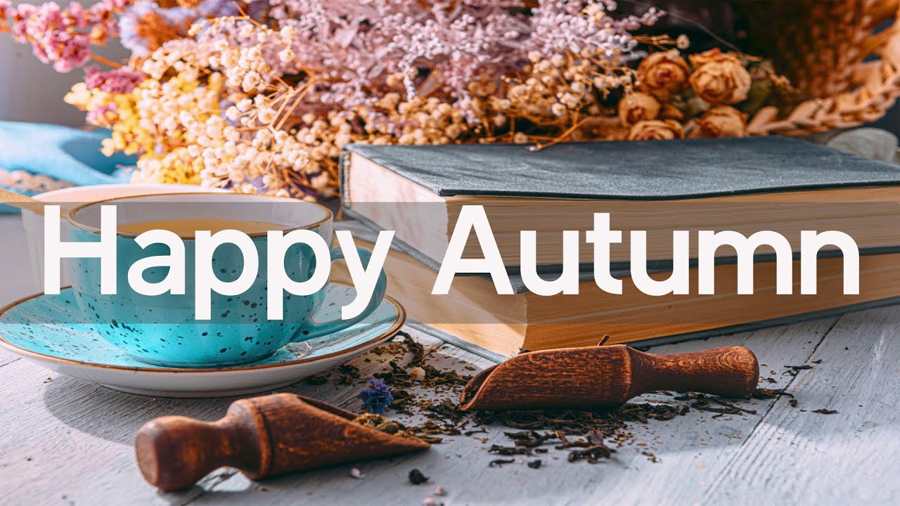 Download Happy Morning Cafe Music - Relax October Morning Jazz Music For Work, Study - Autumn Coffee Jazz
