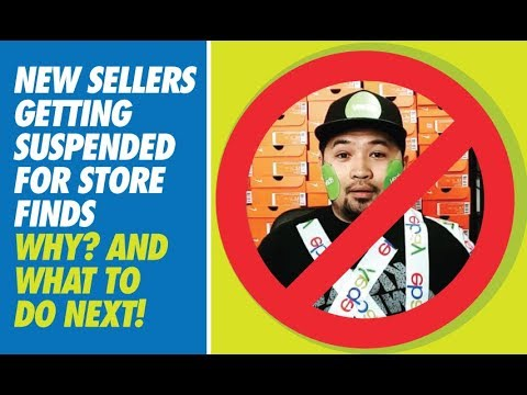 LIVE - HOW HUSTLE BEE GOT BANNED FROM EBAY + HOW TO COME BACK!