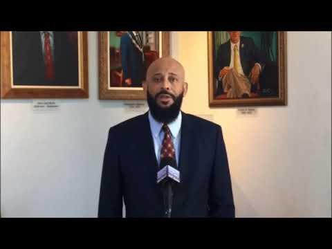Deputy OBA Leader Sylvan Richards At Peace Day, Sept 21 2017