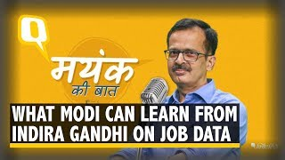 PM Modi Can Take a Page Off Indira Gandhi's Job Data Reports