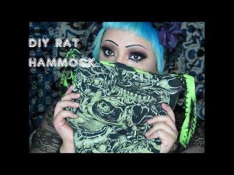 DIY: Rat Hammock