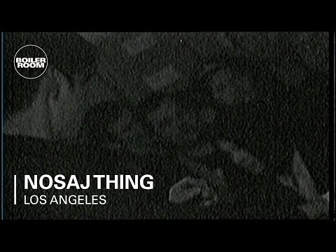 Nosaj Thing Boiler Room Los Angeles LIVE Show