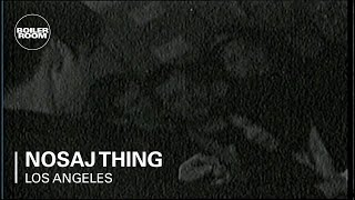 Nosaj Thing Boiler Room Los Angeles LIVE Show