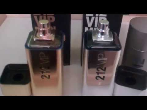 Real vs Fake Part 2 Carolina Herrera 212 VIP for Men Fragrance/Cologne